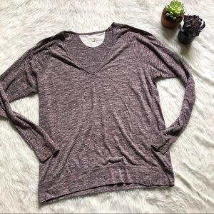 Wilfred Free Purple Long Sleeve